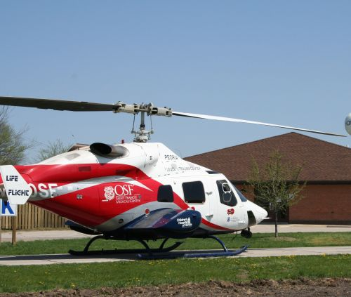 Critical care airlift for patients
