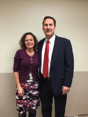 RN Diane Imig and Dr. Phillip Rossi of Hopedale Medical