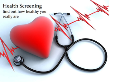 Get a health screening today