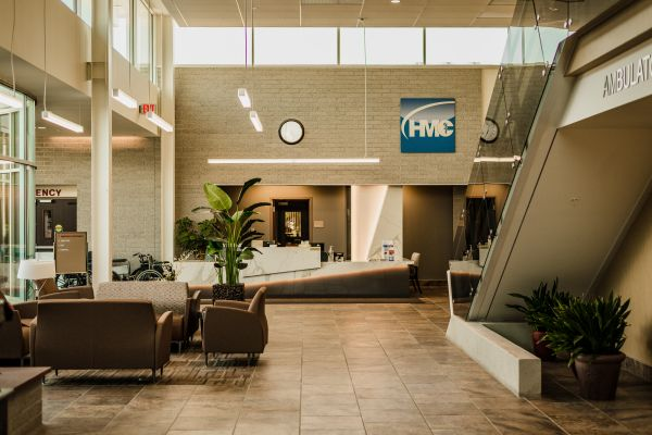 Hopedale Medical Center Lobby | Physical Therapy for Athletes